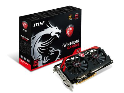 MSI AMD Radeon R9 280X 1000MHz 3GB GDDR5 PCI-Express 3.0 HDMI Gaming Twin Frozr (R9 280X GAMING 3G)