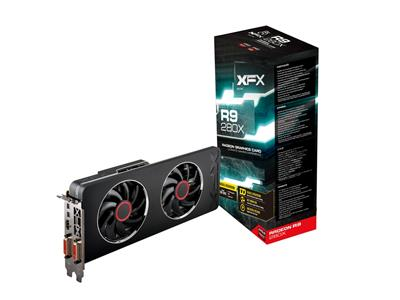 XFX AMD Radeon R9 280X 1000MHz 3GB GDDR5 PCI-E 3.0 HDMI Voltage Unlocked