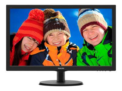"Philips 223V5LSB2/10 21.5"" LED 1920x1080 VGA   Black"