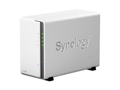 Synology DS214se 2TB (1 x 2TB WD Red) 2-Bay Desktop NAS