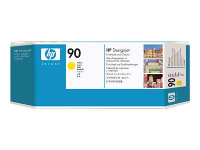 HP 90 Yellow Printhead and Printhead Cleaner