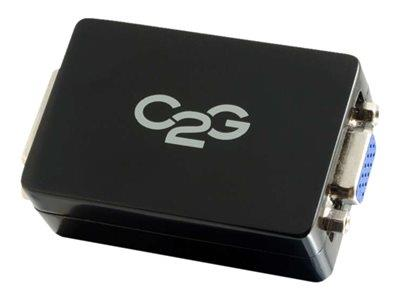 C2G Pro DVI-D to VGA Converter - Video converter - Black