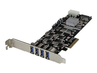 StarTech.com 4 Port PCI Express (PCIe) SuperSpeed USB 3.0 Card Adapter w/ 4 Dedicated 5Gbps Channels