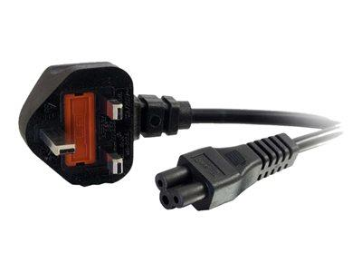 C2G 2m UK Laptop Power Cord (BS 1363 to IEC 60320 C5)