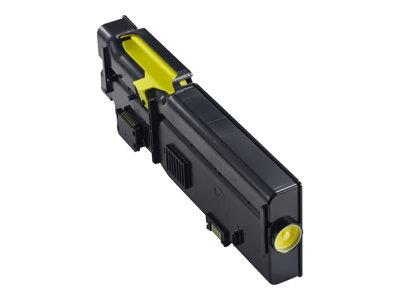 Dell C2660DN/C2665DNF Yellow Toner 1.2k Yield