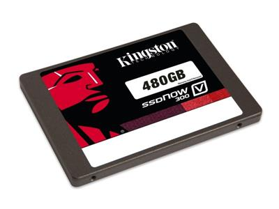 "Kingston 480GB SSDNow V300 SATA 6Gb/s 2.5"" (7mm height) with 9mm Adapter"