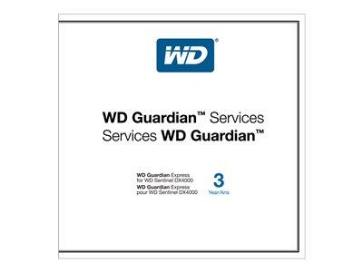 WD WD Guardian Express Extended Service Agreement 3 Years