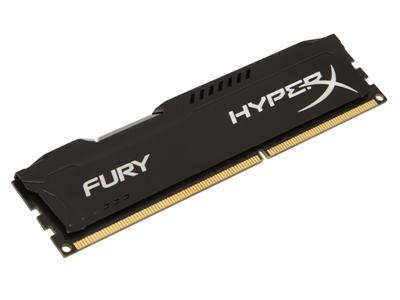 HyperX FURY Blue 4GB DDR3 1866MHz CL10 DIMM Memory