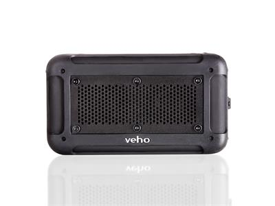 Veho 360° Vecto Black Wireless Water Resistant Speaker with In-Built 6000mAh Power Bank