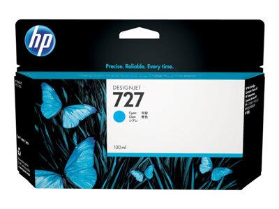 HP 727 130-ml Cyan Designjet Ink Cartridge