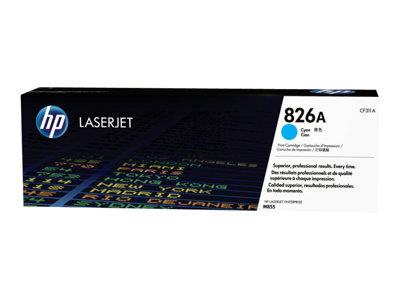 HP 826A Cyan Original LaserJet Toner Cartridge
