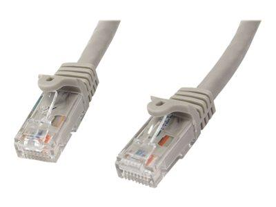 StarTech.com 5m Gray Gigabit Snagless RJ45 UTP Cat6 Patch Cable