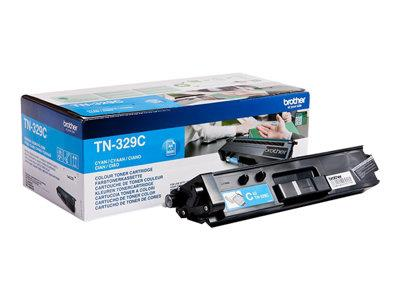 Brother TN-329C Cyan Toner Cartridge 6k Yield