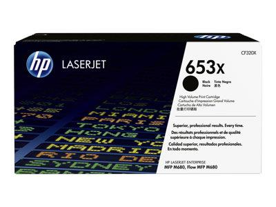 HP 653X High Yield Black Original Toner Cartridge