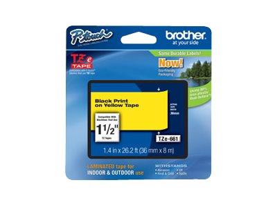 Brother TZe 661 Laminated Tape - 1 Roll