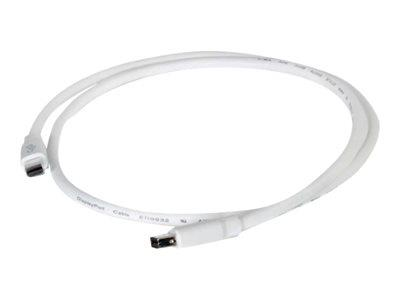 C2G 2m Mini DisplayPort Cable M/M - White