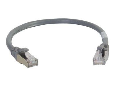 C2G 20m Cat6a Booted Shielded (SSTP) Network Patch Cable – Grey