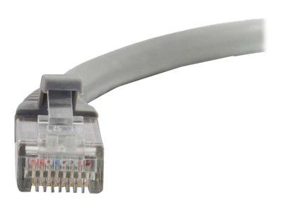 C2G 0.3m Cat5e Booted Unshielded (UTP) Network Patch Cable – Grey