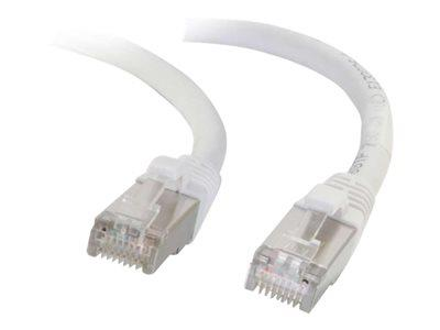 C2G 5m Cat5e Non-Booted Shielded (STP) Network Patch Cable - White