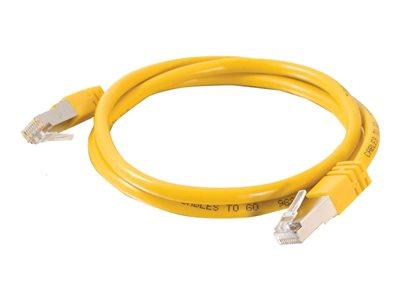 C2G 10m Cat5e Non-Booted Shielded (STP) Network Patch Cable - Yellow