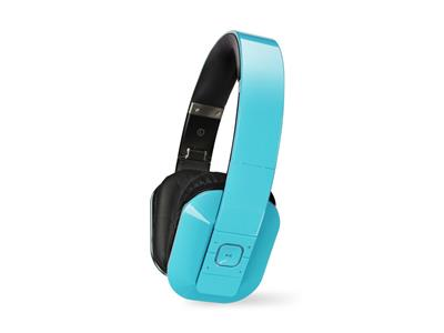 Microlab T1 Headphones Blue Bluetooth 4.0 with Phone Function