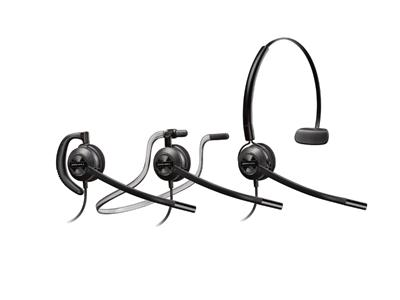 Plantronics EncorePro HW540 Convertible Noise Cancelling Corded Headset