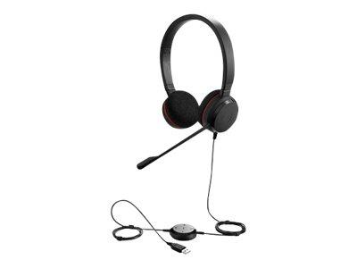 Jabra Evolve 20 Duo MS USB Headset