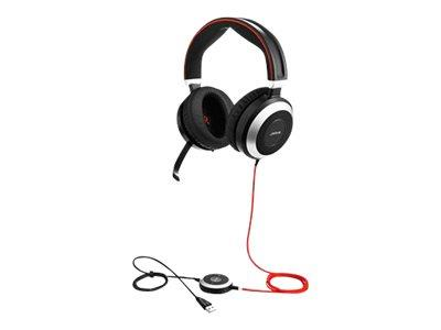 Jabra Evolve 80 Duo UC USB Headset