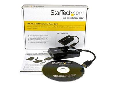 StarTech.com USB 3.0 to HDMI External Multi Monitor Video Graphics Adapter for Mac & PC