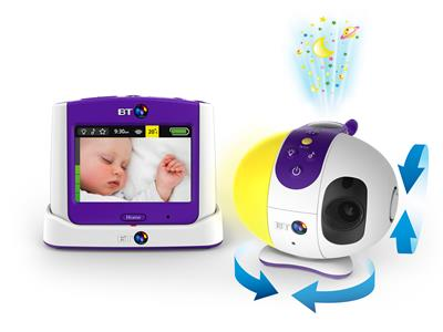 BT Video Baby Monitor 7500 Lightshow