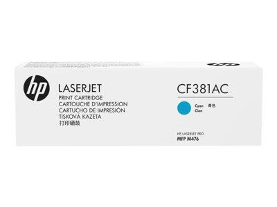 HP 312A Original Cyan LaserJet Toner Cartridge