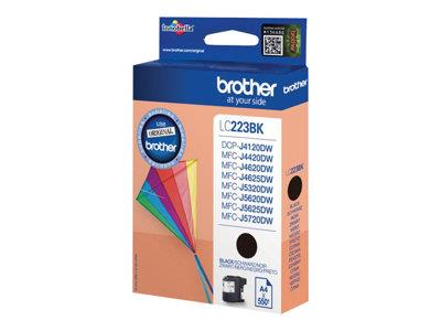 Brother LC223BK Black Original Ink Cartridge