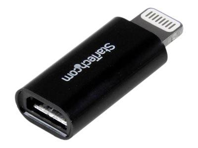 StarTech.com Apple Lightning to Micro USB Adapter - iPad / iPhone / iPod charging / data adapter