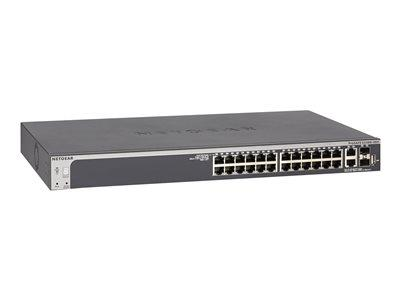 NetGear S3300 28-port Stackable POE Smart Switch W/10G