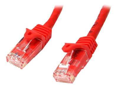 StarTech.com Cat6 patch cable with snagless RJ45 connectors 1M red