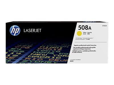 HP 508A Yellow Original Toner Cartridge
