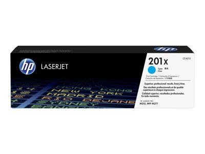HP 201X High Yield Cyan Original Toner Cartridge