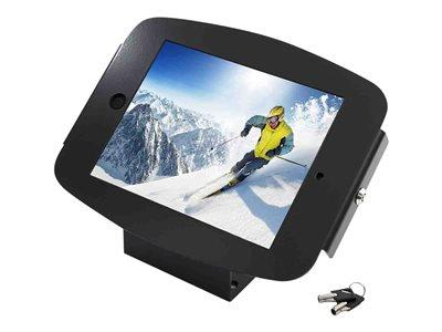 Maclocks iPad Mini Space Kiosk With 45 Degree Mount  - Black