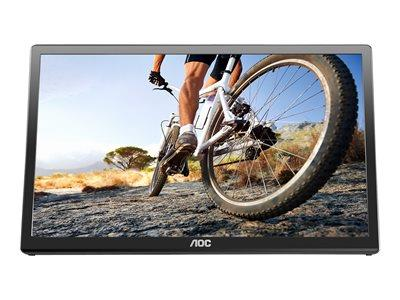 "AOC E1759FWU 17"" 600x900 10ms USB LED Monitor"