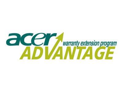 AcerAdvantage Extended Service Agreement - Parts and Labour - 3 Years On-Site Next Business Day