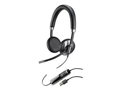 Plantronics Blackwire C725-M Duo USB Headset (Active Noise Cancelling)