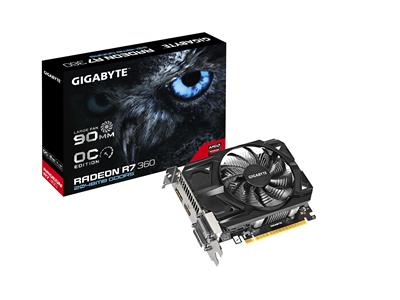 Gigabyte AMD Radeon R7 360 OC 2GB GDDR5 PCI-E Graphics Card