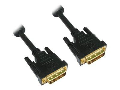 Cables Direct DVI Cable Dual Link  DB-25 (M) DB-25 (M) 1m