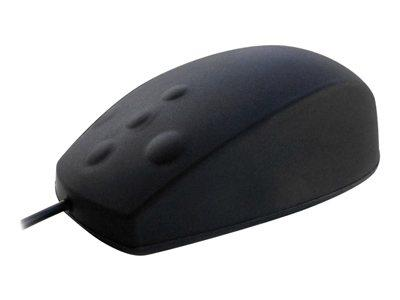Ceratech AccuMed Mouse - Nanoarmour Sealed Mouse - Black
