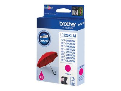 Brother LC225XL High Yield Magenta Inkjet Cartridge