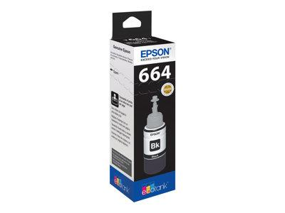 Epson T6641 Black Ink bottle for L Series