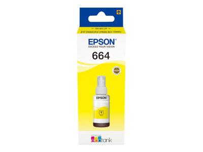Epson T6644 Yellow Ink Bottle L-Series Ink Tank