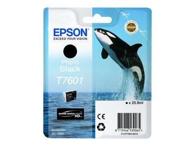 Epson T7601 Photo Black Ink Cartridge SureColor SC-P600 Printers