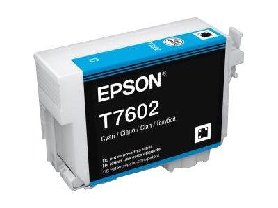 Epson T7602 Cyan Ink for SureColor SC-P600 Printers
