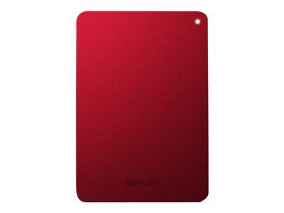 Buffalo 1TB MiniStation 'Safe' Portable HD flat protection - Red